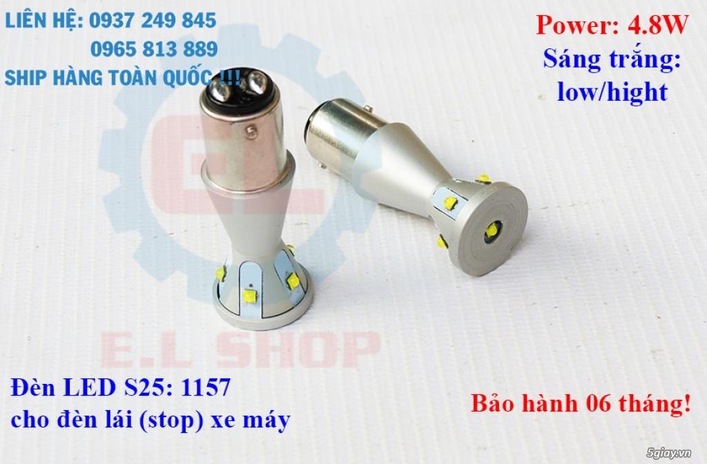 E.L SHOP - Đèn Led siêu sáng xe ô tô: XHP70, XHP50, Philips Lumiled, gương cầu xenon... - 11