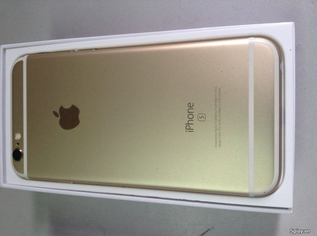 Iphone 6s 128GB, Quốc tế, Gold, Fullbox, 99.99% new - 2