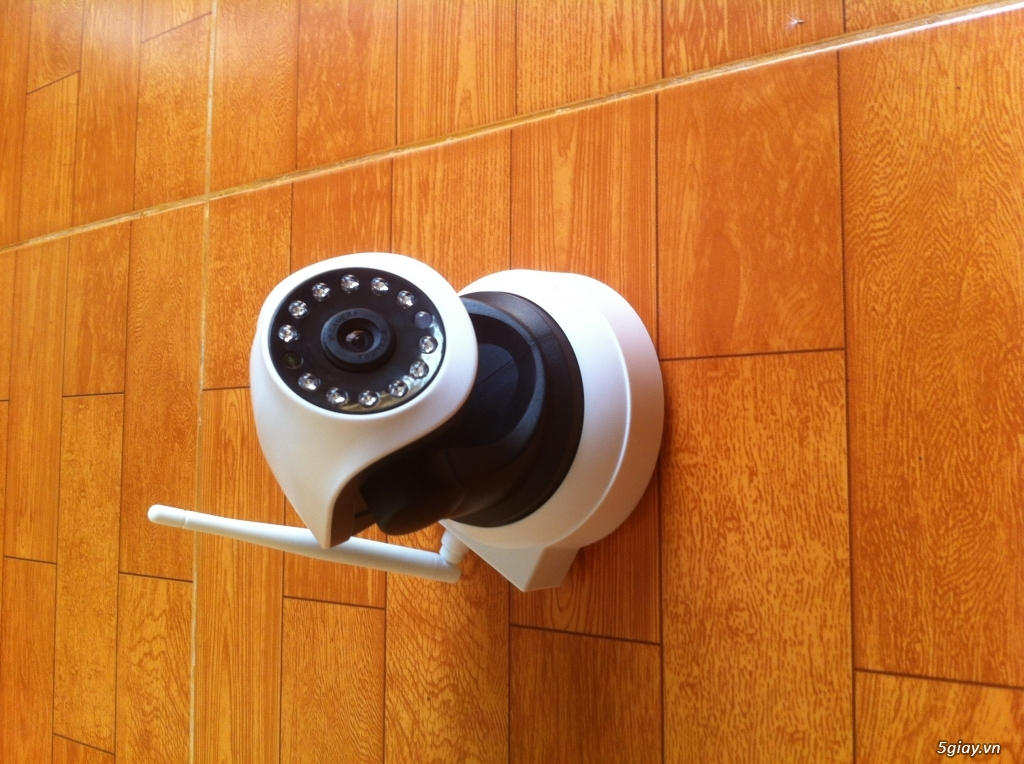 IP camera wireless quan sát qua internet 24/24 và lưu vào máy tính ko giới hạn - 2