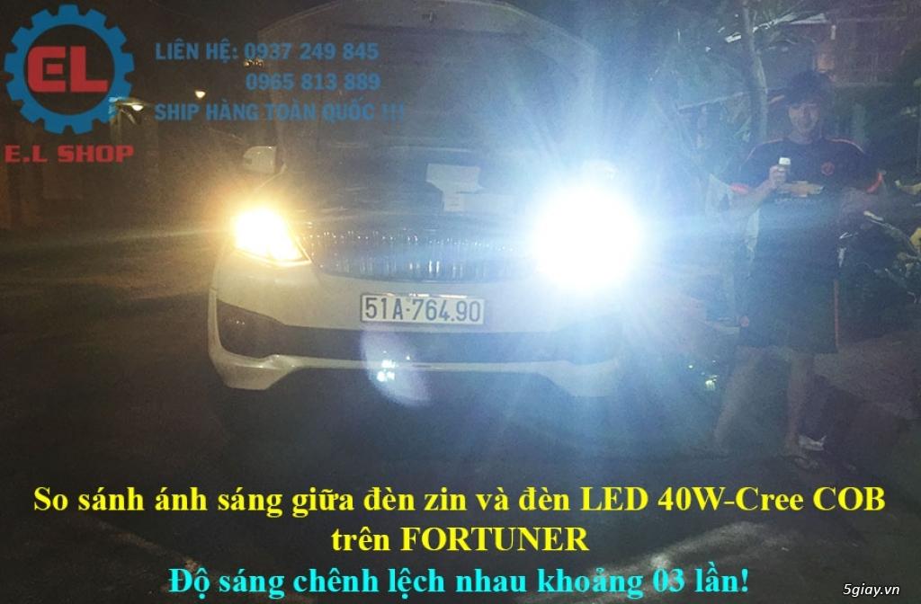 E.L SHOP - Đèn Led siêu sáng xe ô tô: XHP70, XHP50, Philips Lumiled, gương cầu xenon... - 14