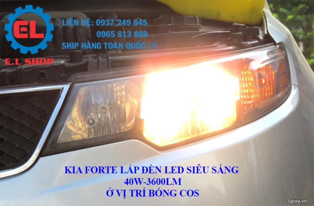 E.L SHOP - Đèn Led siêu sáng xe ô tô: XHP70, XHP50, Philips Lumiled, gương cầu xenon... - 25