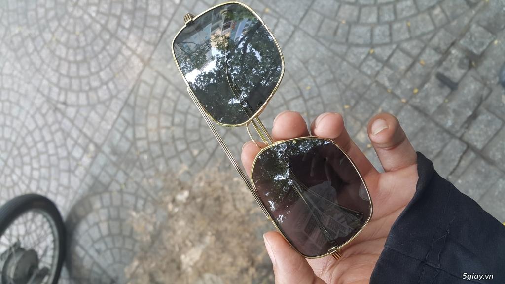 Thanh lý vài mắt kính Chrome Heart,Thom Browne,Police xịn, xách tay,fullbox - 11