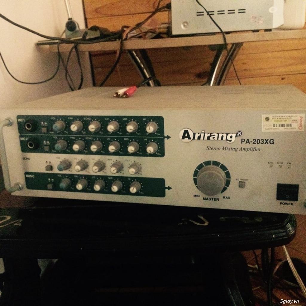 Dàn máy Karaoke Arirang