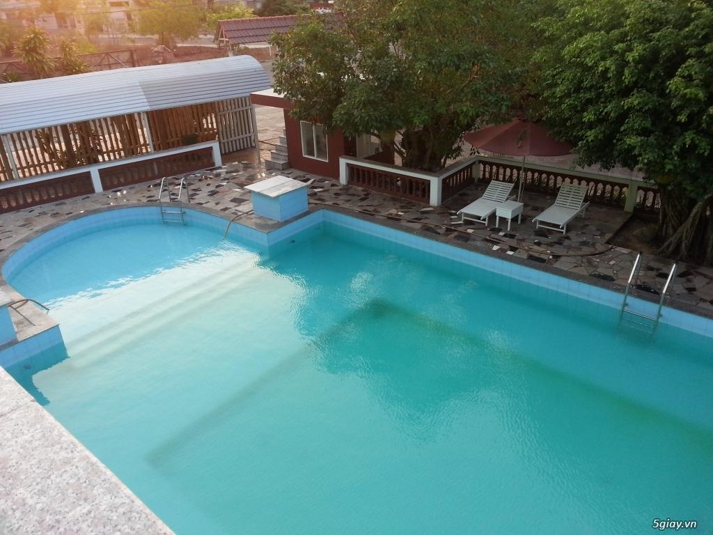 Resort giá rẻ cho anh em 5giay - Song Lam Gold Resort - 2