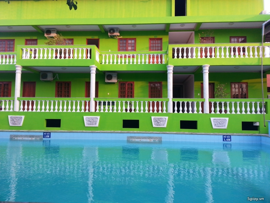 Resort giá rẻ cho anh em 5giay - Song Lam Gold Resort - 4