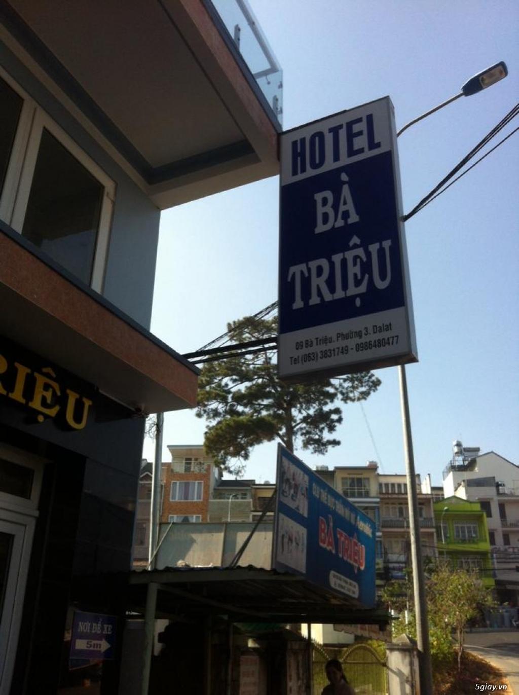 Khách sạn tại trung tâm thành phố ĐÀ LẠT