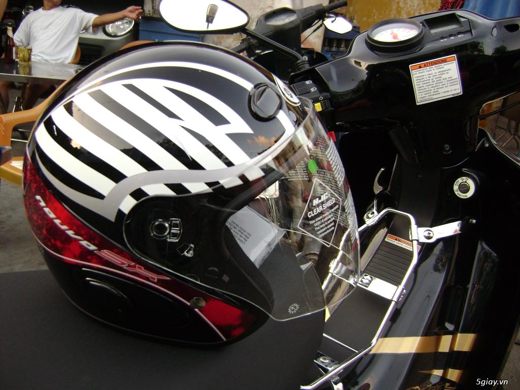 Nón BH Yamaha GP theo xe (Nouvo SX)