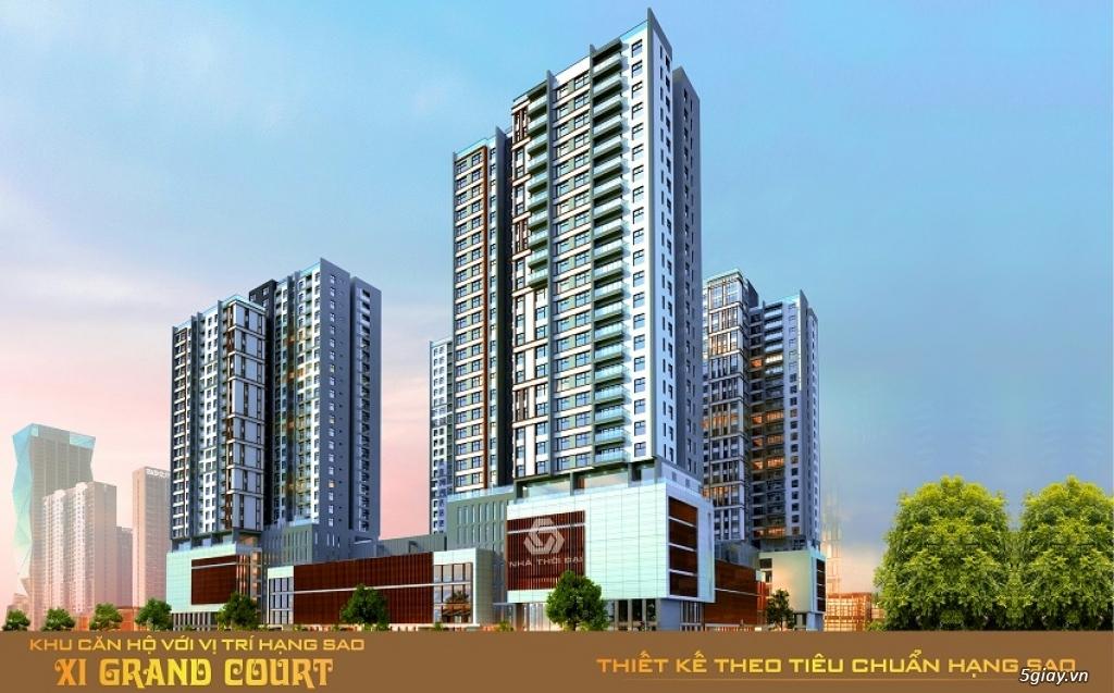 Xi Grand Court chiết khấu 12% CĐT nhận nhà mới trã lãi, thanh toán 30% LH 0902886332 - 4