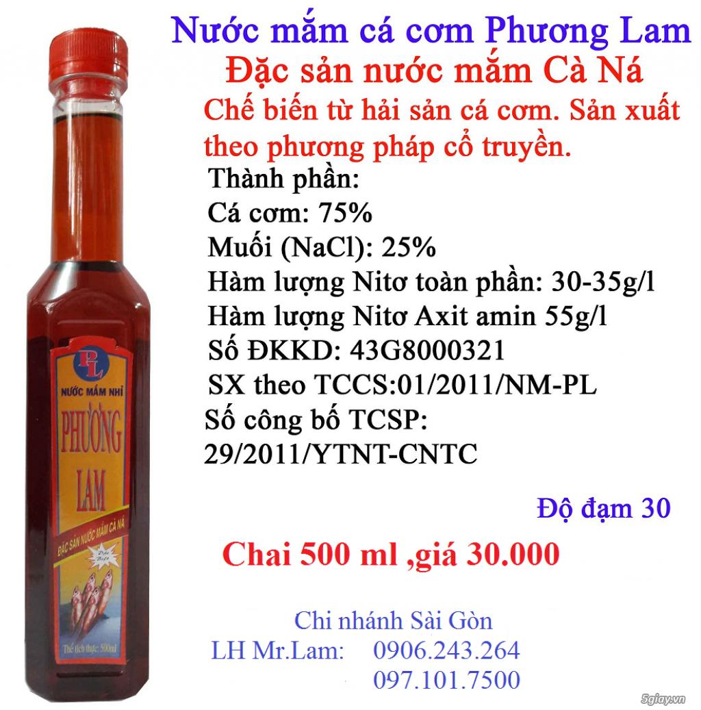Phương Lam Cà Ná-Chuyên Cung Cấp Nước Mắm Nhỉ Cá Cơm Truyền Thống Sỉ Và Lẻ-Uy Tín,Cam Kết Chất Lượng - 2