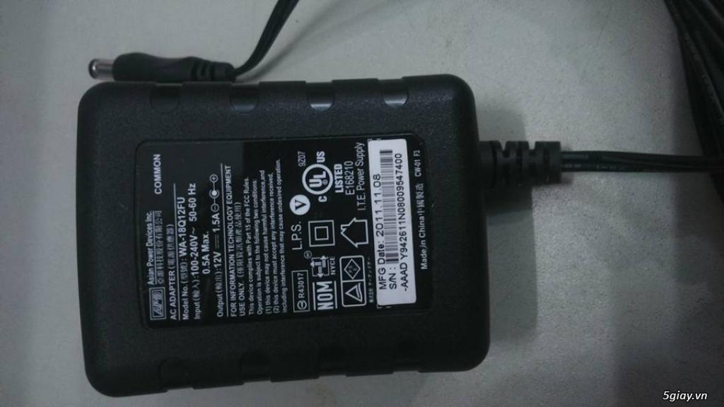 Nguồn camera 12V-1.5A Chính hãng APD - 3