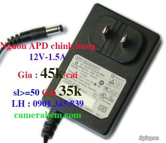Nguồn camera 12V-1.5A Chính hãng APD