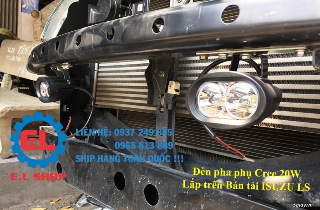 E.L SHOP - Đèn Led siêu sáng xe ô tô: XHP70, XHP50, Philips Lumiled, gương cầu xenon... - 38