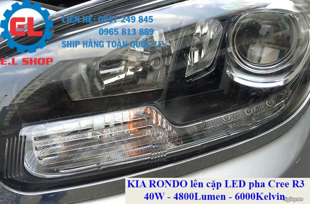 E.L SHOP - Đèn Led siêu sáng xe ô tô: XHP70, XHP50, Philips Lumiled, gương cầu xenon... - 28
