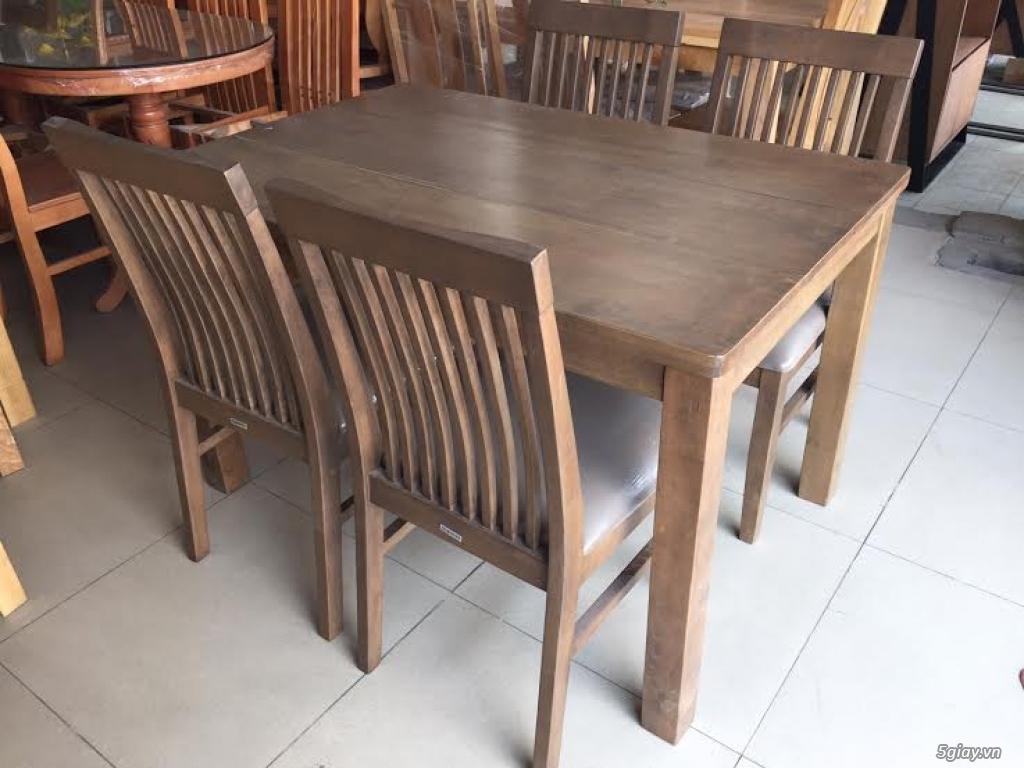 Bàn ghế giường tủ gỗ sồi Mỹ và Nga giá tốt nhất Sài Gòn - 34