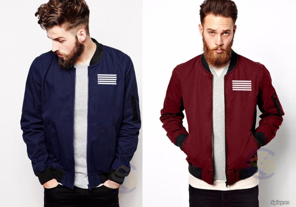 Nhiều mẫu áo khoác thời trang dành cho bạn trẻ giá bình dân - 3