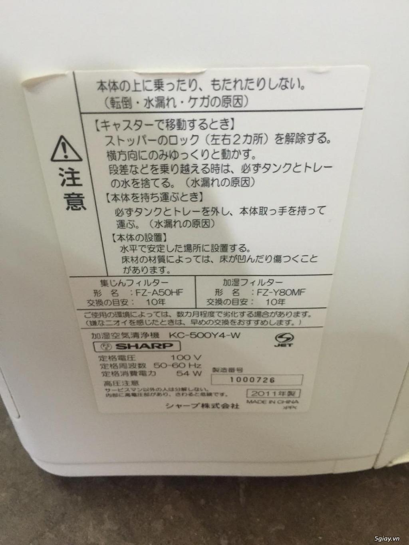 Máy Lọc Không Khí Tạo Ẩm Hàng Nội Địa Nhật GIÁ TỐT | NANOe-G  - Plasmacluster 7000 - 21
