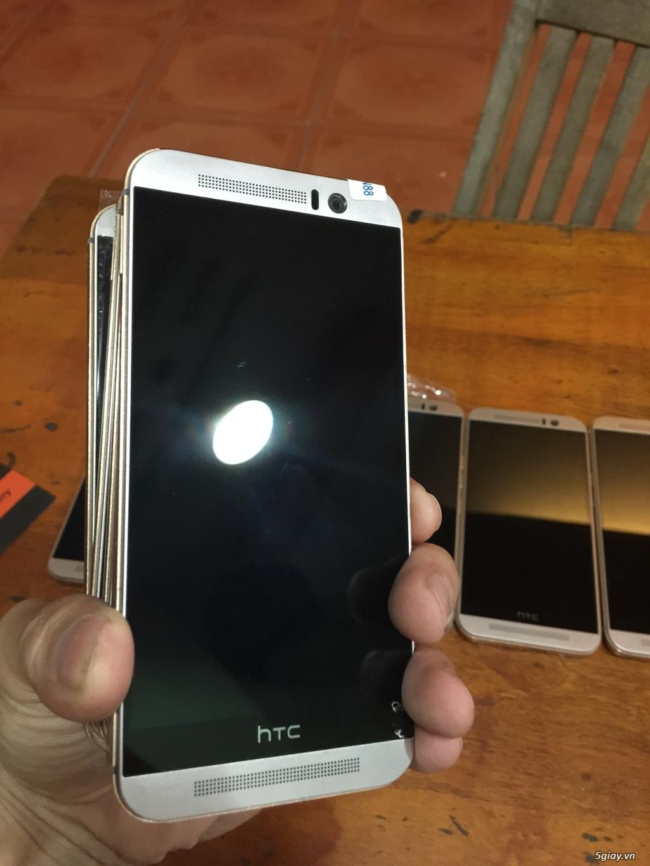 HTC One M9 bạc viền Gold Likenew 98% nobox chỉ với 5.4 triệu đồng