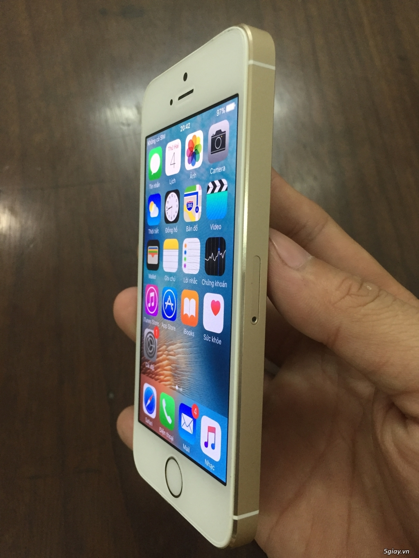 iPhone 5S Vàng 64GB giá thanh lý - 3