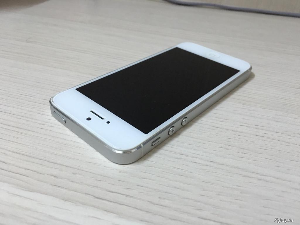 iPhone 5 Trắng 16GB Quốc tế mang Mỹ về giá được.. - 2