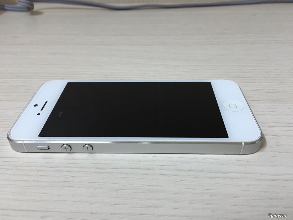 iPhone 5 Trắng 16GB Quốc tế mang Mỹ về giá được..