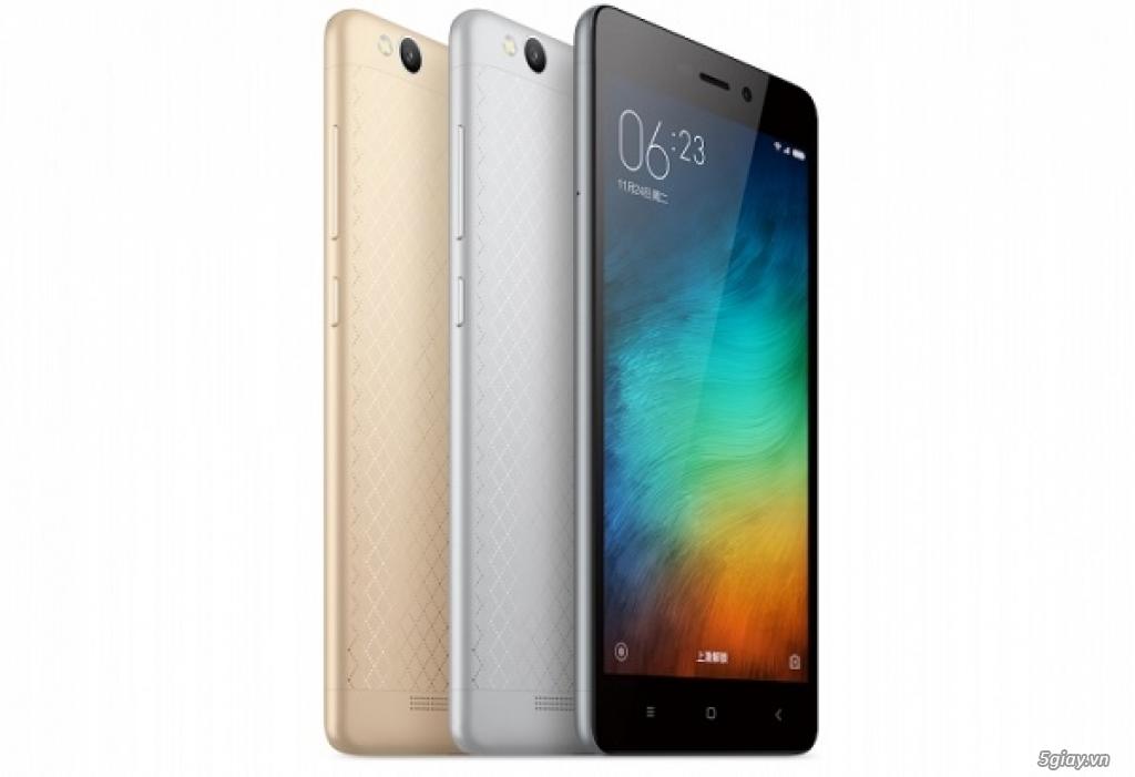[Mr Bách Khoa] mua Xiaomi Redmi 3 giá tốt + quà tặng tặng đt Land Power A8+ - 1