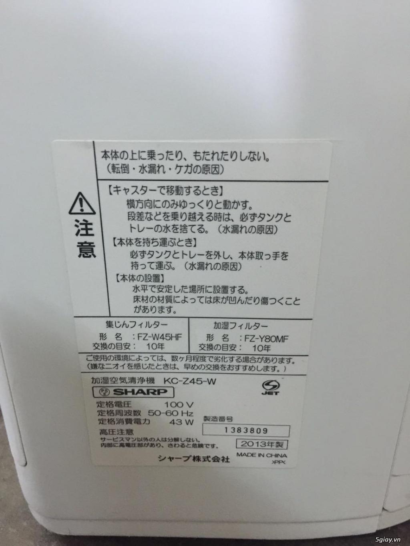 Máy Lọc Không Khí Tạo Ẩm Hàng Nội Địa Nhật GIÁ TỐT | NANOe-G  - Plasmacluster 7000 - 18