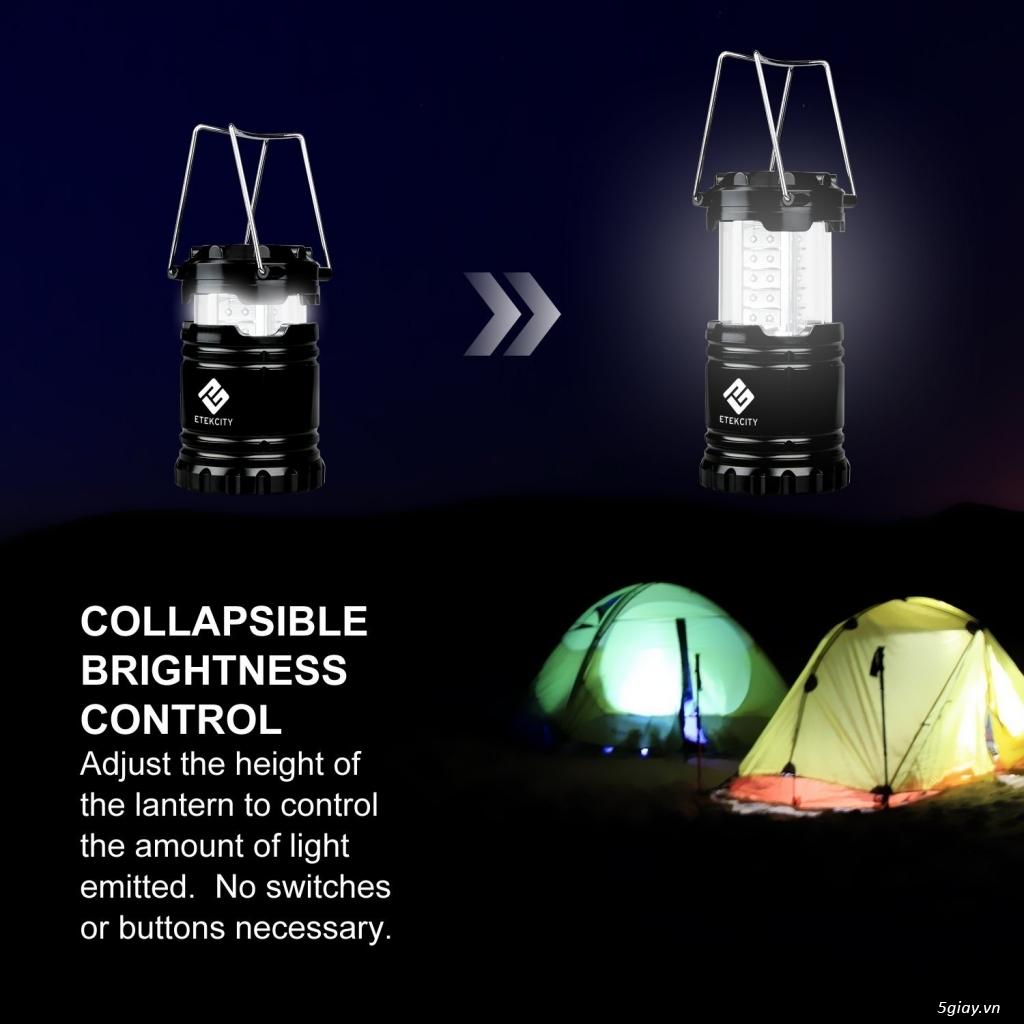 Phụ kiện cắm trại, leo núi, phượt: ĐÈN PIN, ĐÈN LỀU - 25