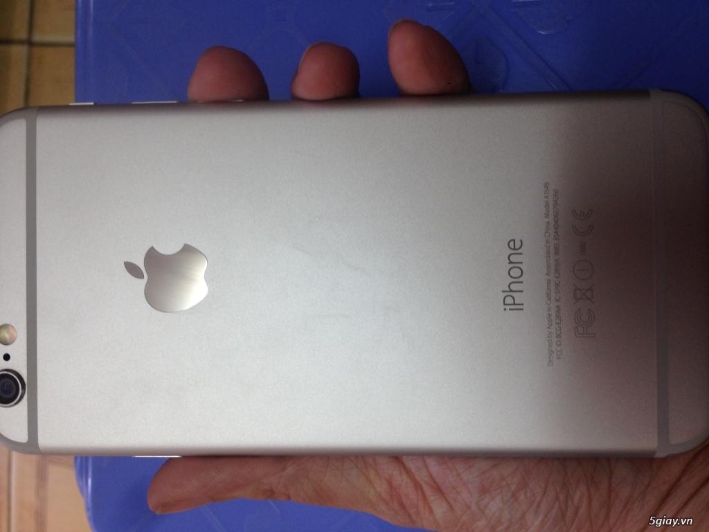 Iphone 6 128gb,màu bạc, quốc tế,nguyên zin,mới 99% - 4