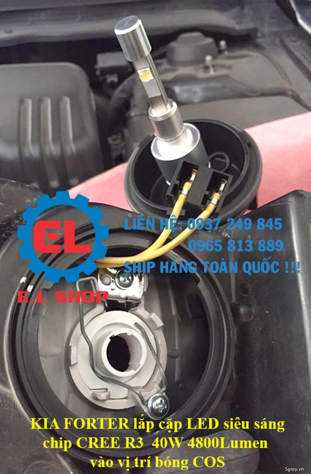 E.L SHOP - Đèn Led siêu sáng xe ô tô: XHP70, XHP50, Philips Lumiled, gương cầu xenon... - 32
