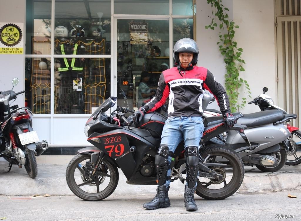 Chợ bảo hộ - bán đồ đi phượt - dụng cụ bảo hộ moto xe máy - 50
