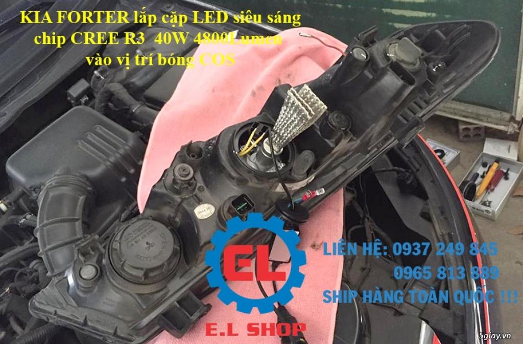 E.L SHOP - Đèn Led siêu sáng xe ô tô: XHP70, XHP50, Philips Lumiled, gương cầu xenon... - 31