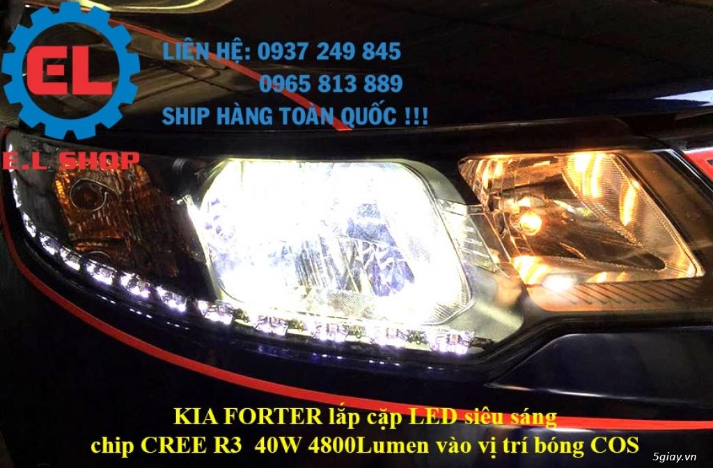 E.L SHOP - Đèn Led siêu sáng xe ô tô: XHP70, XHP50, Philips Lumiled, gương cầu xenon... - 34
