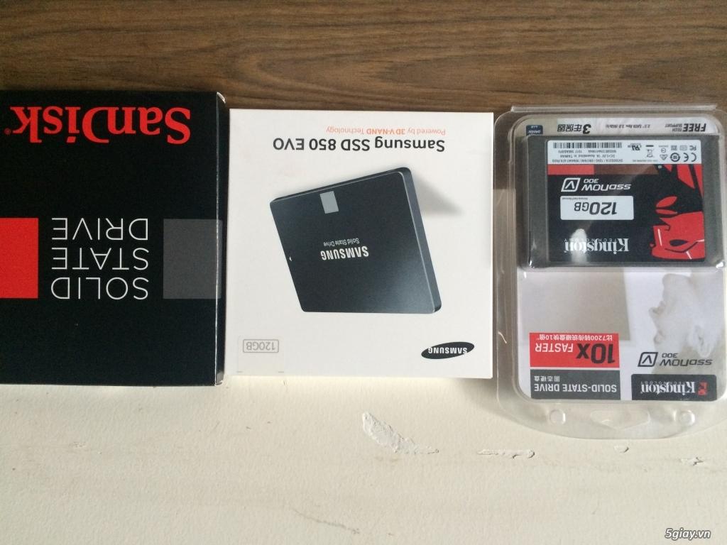 Bán sĩ và lẻ SSD kingston ,SS evo850 ,SanDisk giá vip nhất hcm