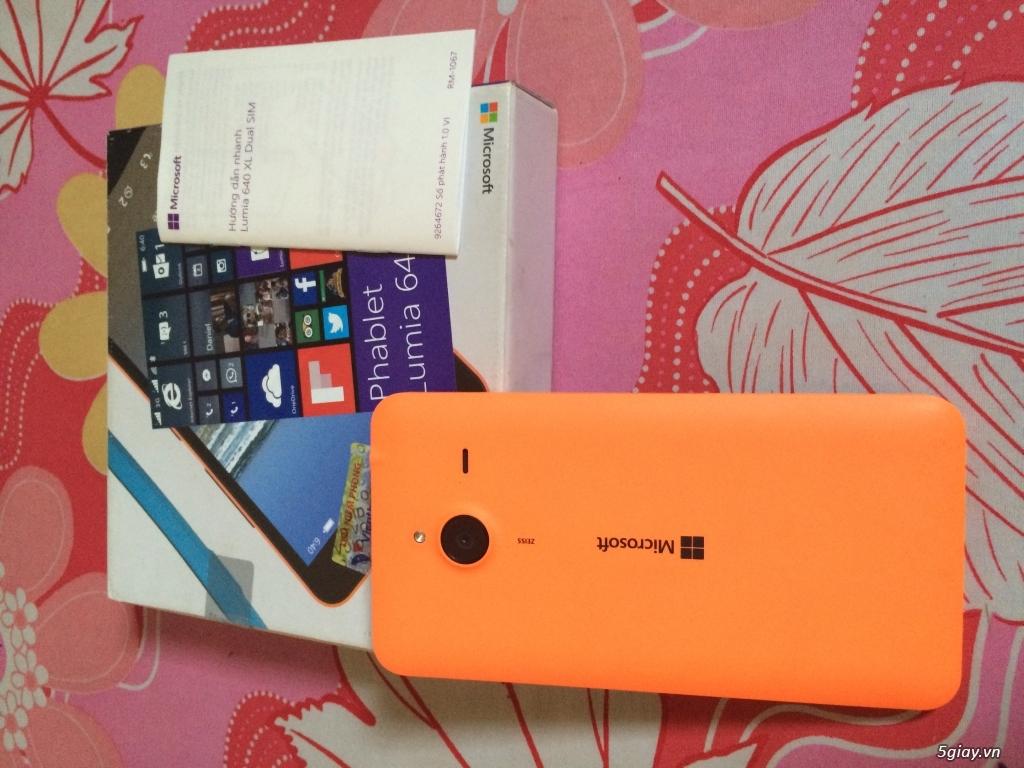 Lumia 640Xl cam còn bảo hành 11 tháng 20 ngày tại viễn thông A - 1