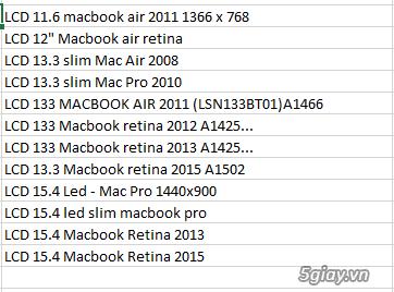 Chuyên cung cấp các loại SẠC, PIN, KEYBOARD,RAM,MÀN HÌNH  laptop - 29