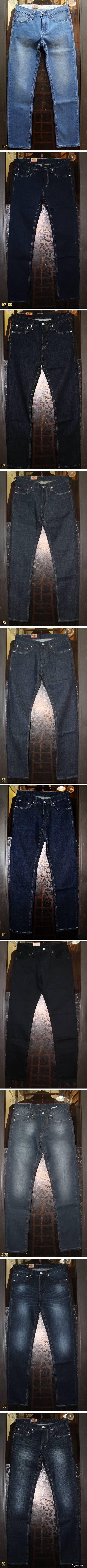 Quần kaki ZARA SlimFit,quần jean Levi's 511 SlimFit,quần short SuperDry,short jean CK - 27