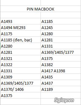 Chuyên cung cấp các loại SẠC, PIN, KEYBOARD,RAM,MÀN HÌNH  laptop - 6