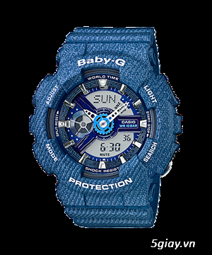 Đồng hồ baby-G, G-shock chính hãng - 10