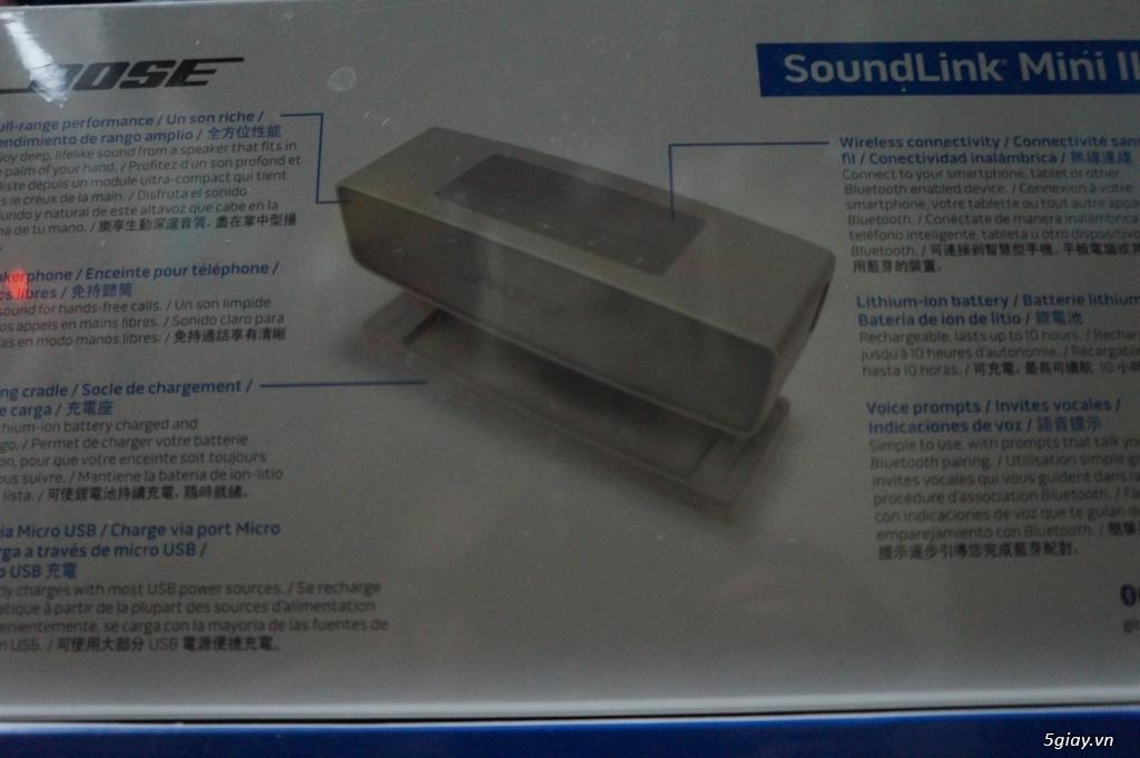 Loa Bose soundlink mini 2 new seal 100%.