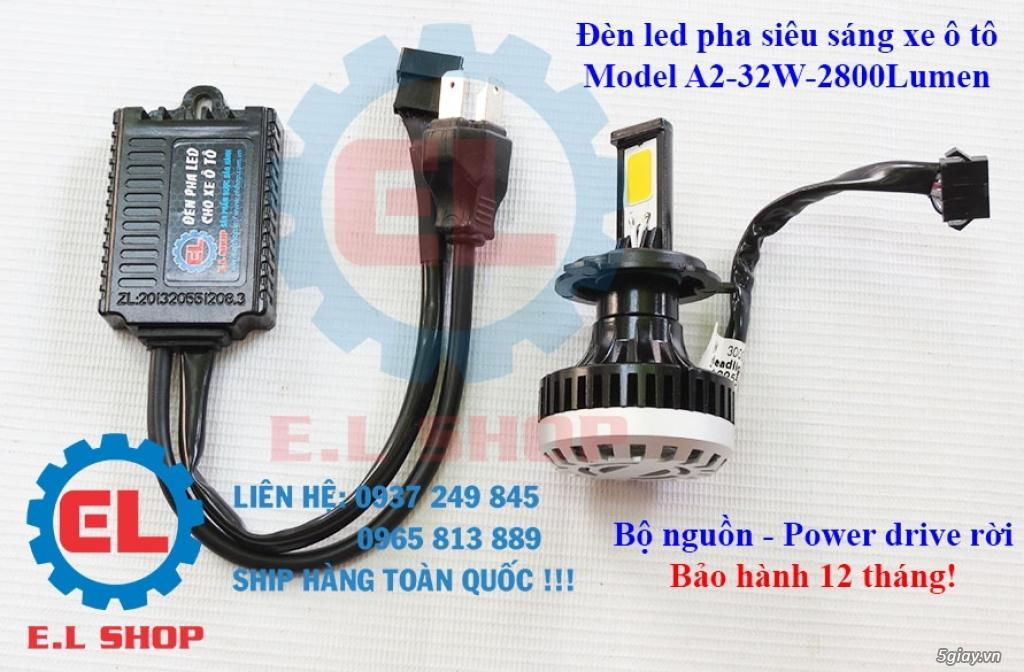 E.L SHOP Đèn led siêu sáng xe mô tô: XHP50, XHP70 i7, Cree, Philips Lumiled,Gương cầu LED xe gắn máy - 13