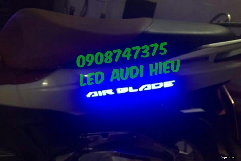 Chuyên độ tem đèn led cho các dòng xe máy