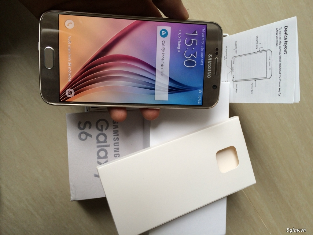 Samsung Galaxy S6 Quốc Tế Mới 100% Fullbox