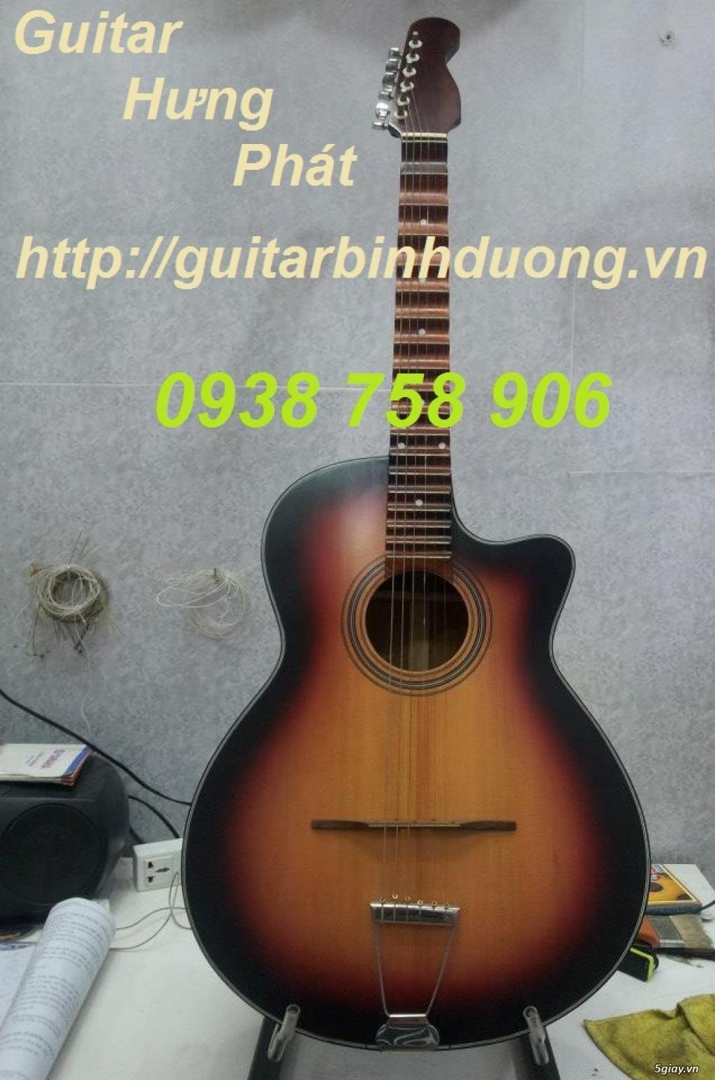 Đàn guitar phím lõm giá rẻ GUITAR HƯNG PHÁT - 5