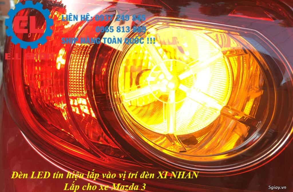 E.L SHOP - Đèn Led siêu sáng xe ô tô: XHP70, XHP50, Philips Lumiled, gương cầu xenon... - 8