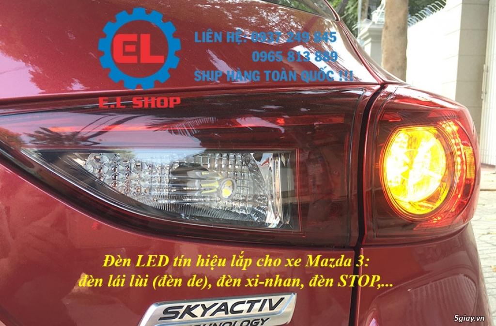 E.L SHOP - Đèn Led siêu sáng xe ô tô: XHP70, XHP50, Philips Lumiled, gương cầu xenon... - 7
