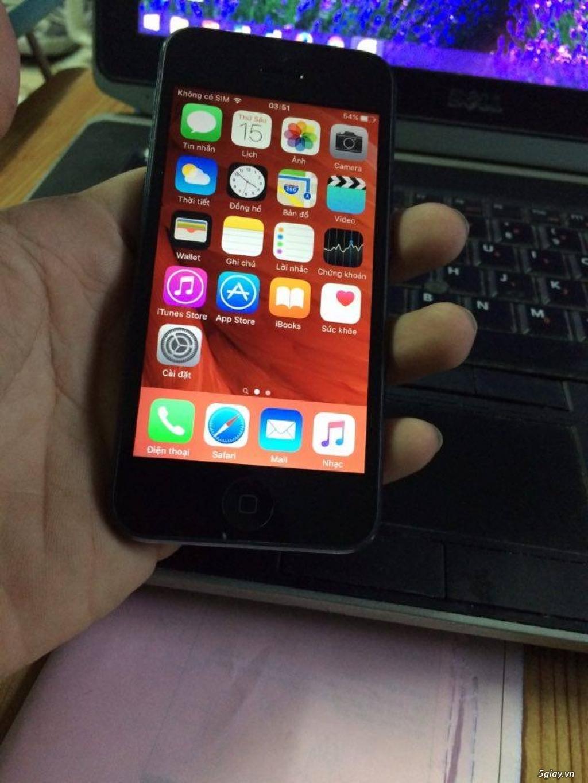 Iphone 5 32Gb quốc tế đang sài zin 100% cho anh em - 3