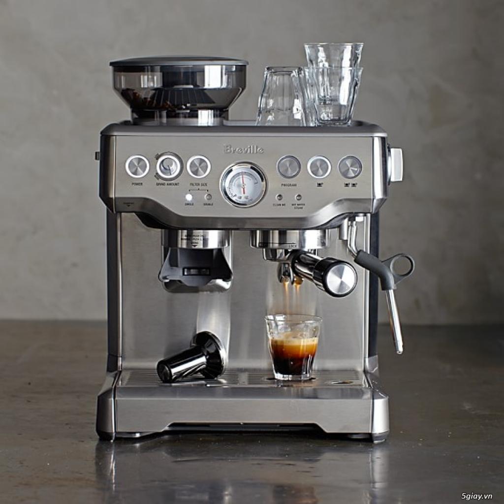 Máy pha cafe espresso Breville 870XL Australia [nhập khẩu chính hãng]