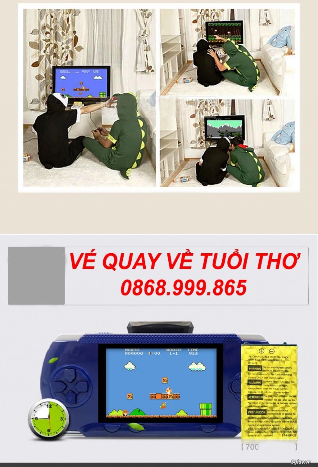 Cực Hot ! Máy Chơi Game RS-80 Full 300 Game Quay Về Tuổi Thơ Dữ Dội - 9