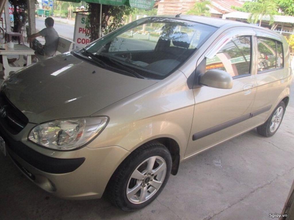 Cần bán xe hyundai getz nhập khẩu, 1.1 số sàn đời cuối 2009. - 5
