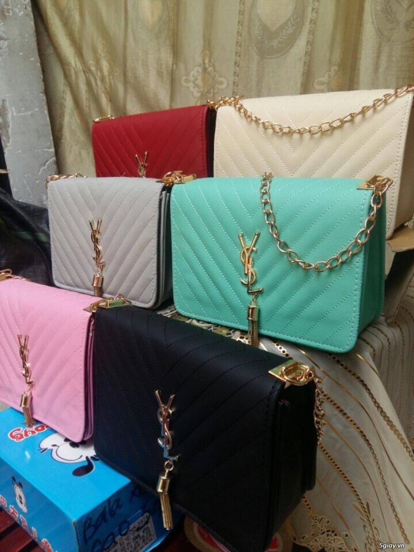 Túi xách ysl dạo phố, dễ phối đồ, tiện lợi cho các bạn nữ, 150k, có bán sĩ